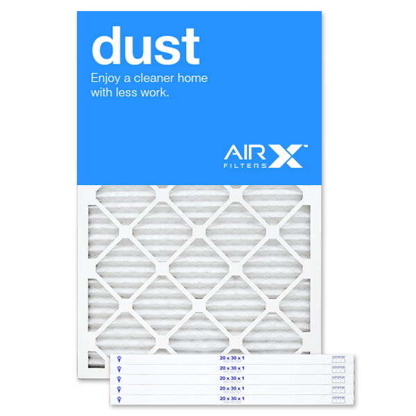 20x30x1 AIRx DUST Air Filter - MERV 8