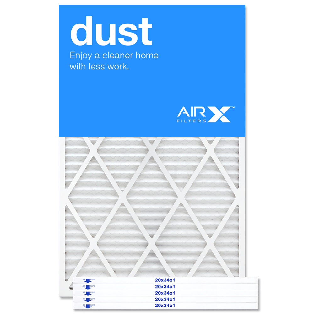 20x34x1 AIRx DUST Air Filter - MERV 8