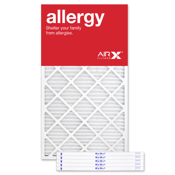 20x36x1 AIRx ALLERGY Air Filter - MERV 11