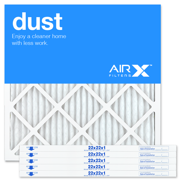 22x22x1 AIRx DUST Air Filter - MERV 8