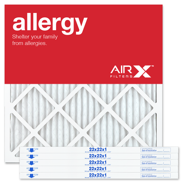 22x22x1 AIRx ALLERGY Air Filter - MERV 11