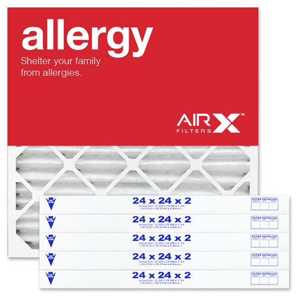 24x24x2 AIRx ALLERGY Air Filter - MERV 11