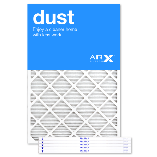 24x36x1 AIRx DUST Air Filter - MERV 8