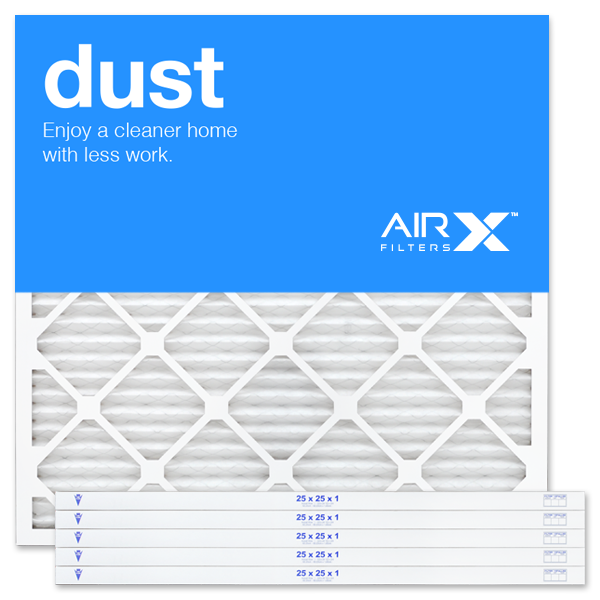 25x25x1 AIRx DUST Air Filter - MERV 8