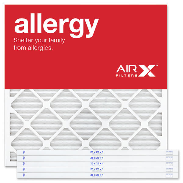 25x25x1 AIRx ALLERGY Air Filter - MERV 11