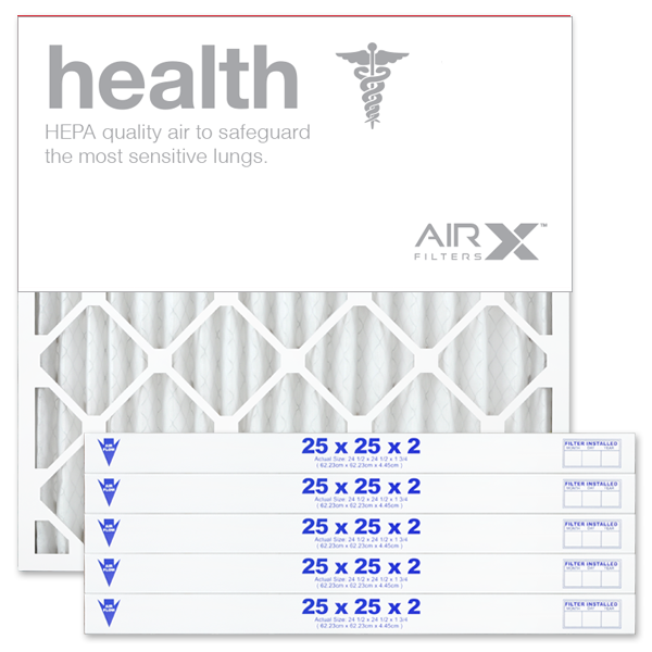 25x25x2 AIRx HEALTH Air Filter - MERV 13