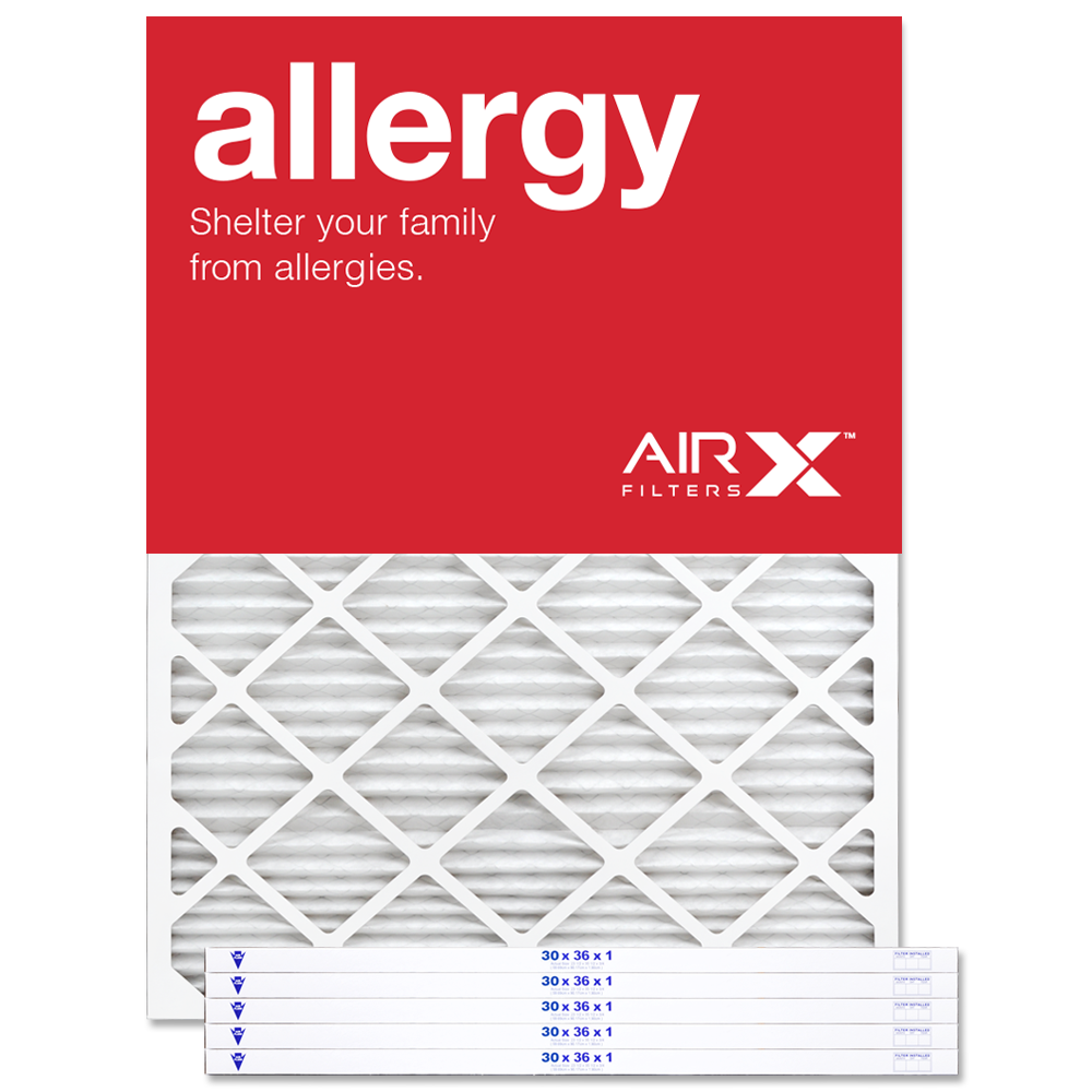 30x36x1 AIRx ALLERGY Air Filter - MERV 11