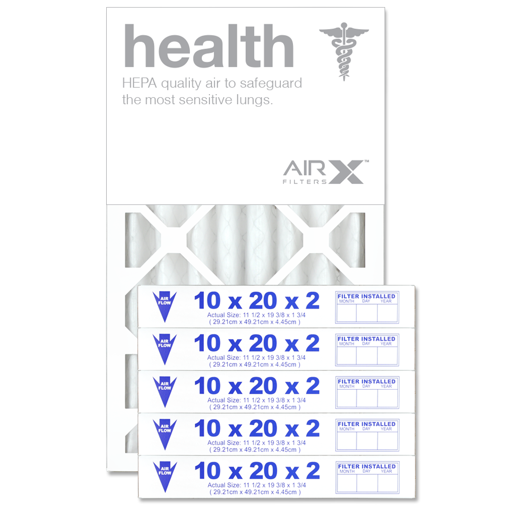 10x20x2 AIRx HEALTH Air Filter - MERV 13