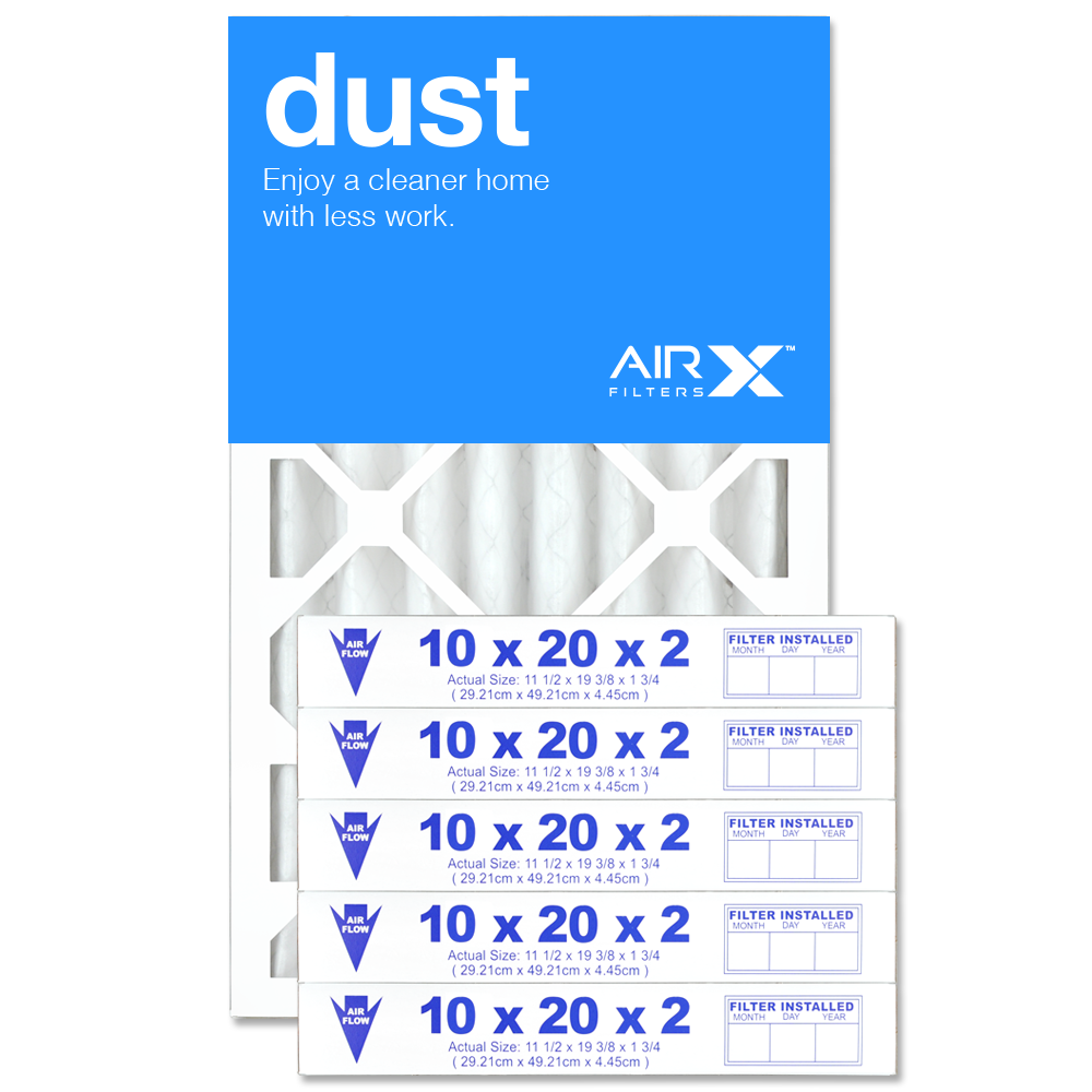 10x20x2 AIRx DUST Air Filter - MERV 8