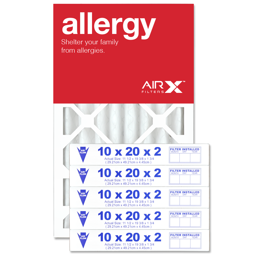 10x20x2 AIRx ALLERGY Air Filter - MERV 11