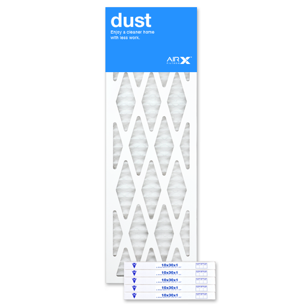10x30x1 AIRx DUST Air Filter - MERV 8