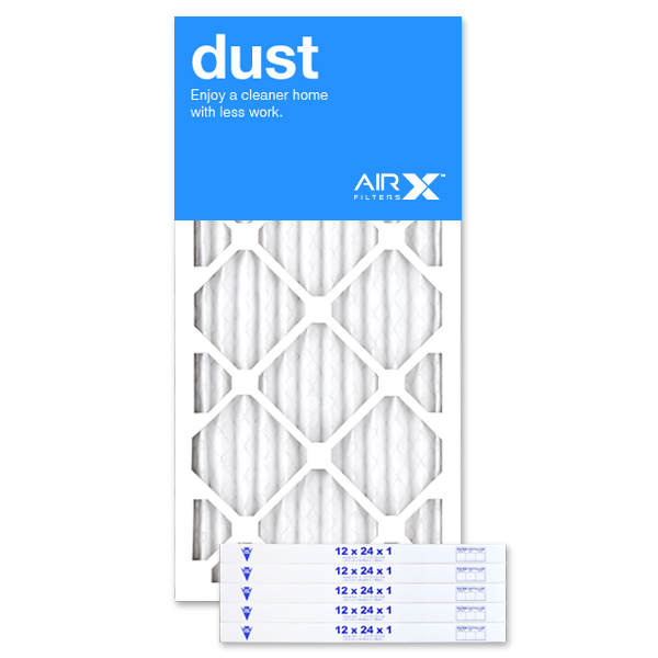 12x24x1 AIRx DUST Air Filter - MERV 8