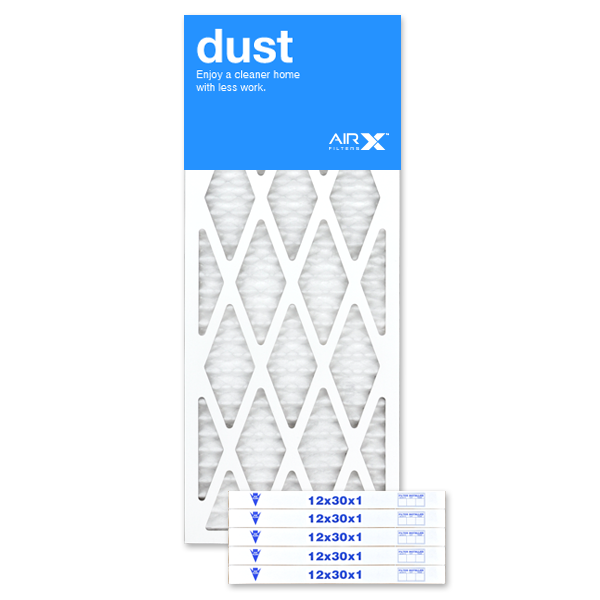 12x30x1 AIRx DUST Air Filter - MERV 8