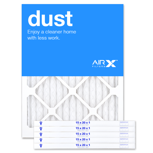 15x20x1 AIRx DUST Air Filter - MERV 8