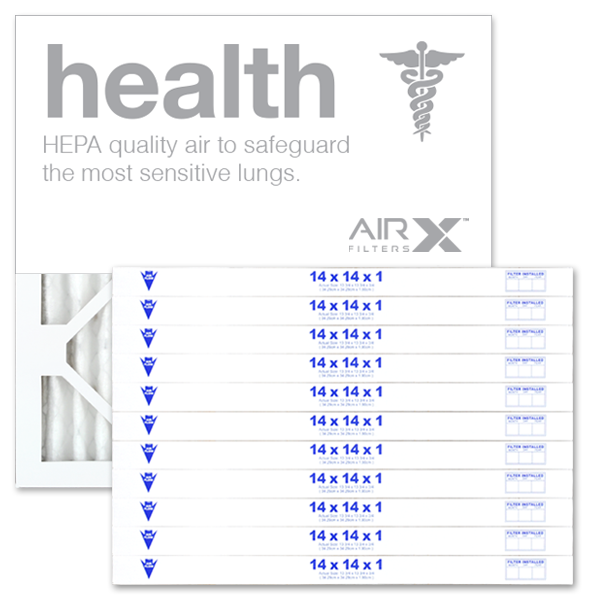 14x14x1 AIRx HEALTH Air Filter - MERV 13