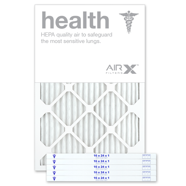16x24x1 AIRx HEALTH Air Filter - MERV 13
