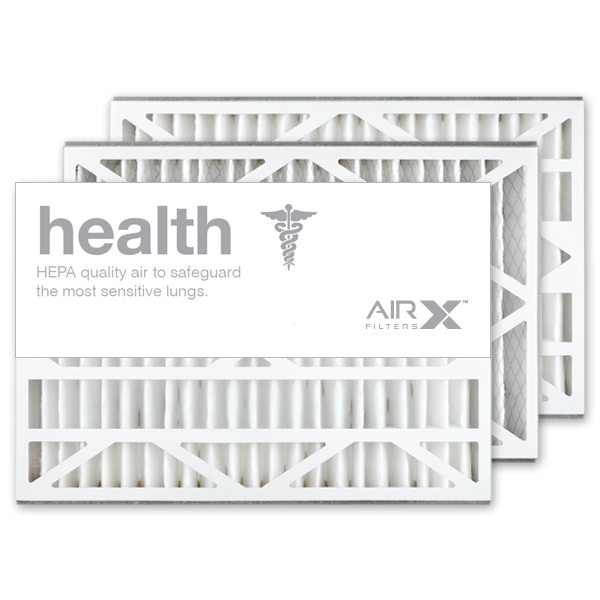 16x25x3 AIRx HEALTH Lennox X0581 Replacement Air Filter - MERV 13