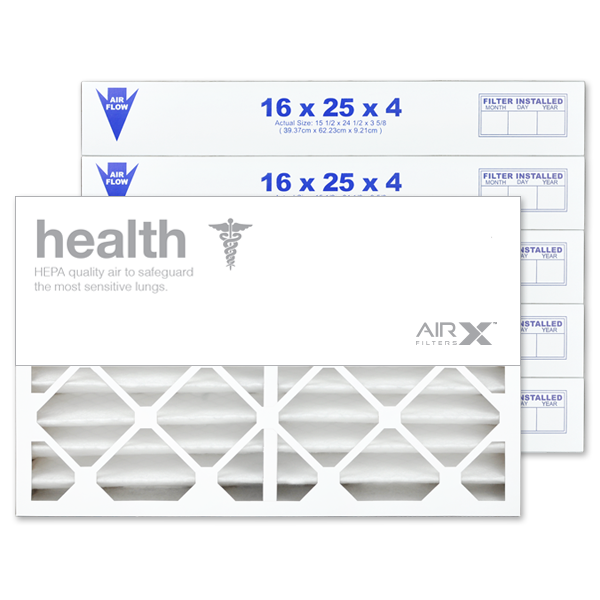 16x25x4 AIRx HEALTH Air Filter - MERV 13