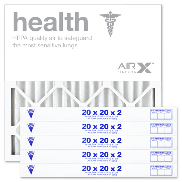20x20x2 AIRx HEALTH Air Filter - MERV 13