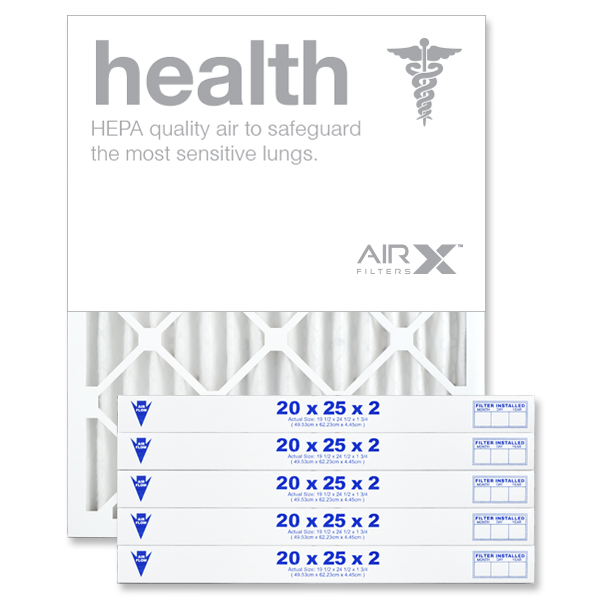 20x25x2 AIRx HEALTH Air Filter - MERV 13