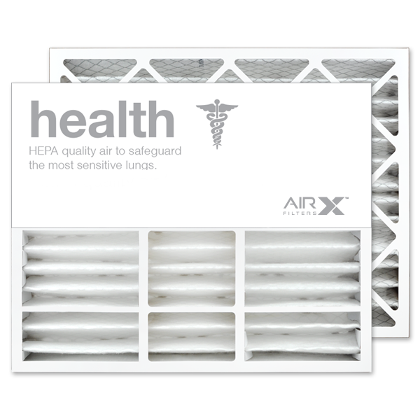 20x25x5 AIRx HEALTH Bryant Carrier FILXXCAR0020 Replacement Air Filter - MERV 13