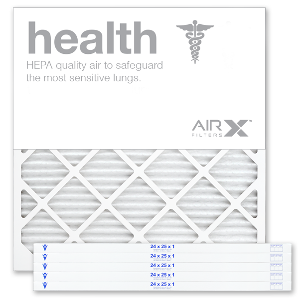 24x25x1 AIRx HEALTH Air Filter - MERV 13