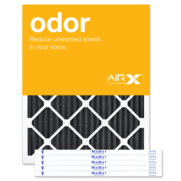 20x25x1 AIRx ODOR Air Filter - Carbon