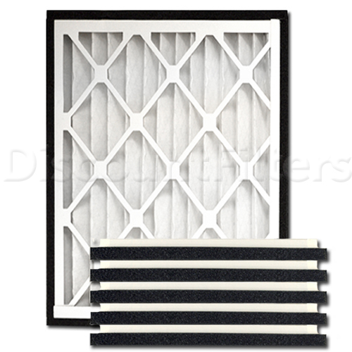 "Practical Pleat 12"" X 20"" X 2"" Return Grille Filter"