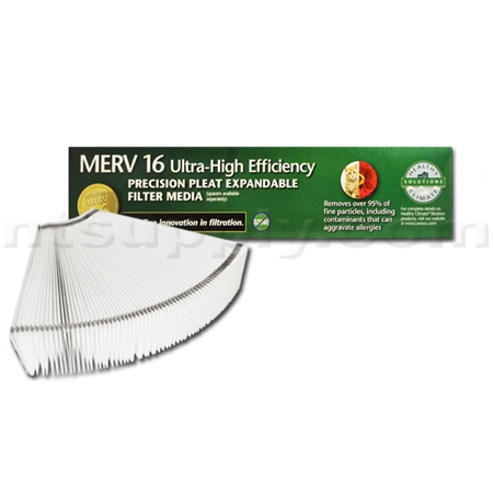 Lennox X8312 Expandable MERV 16 Replacement Filter - 16x25x5